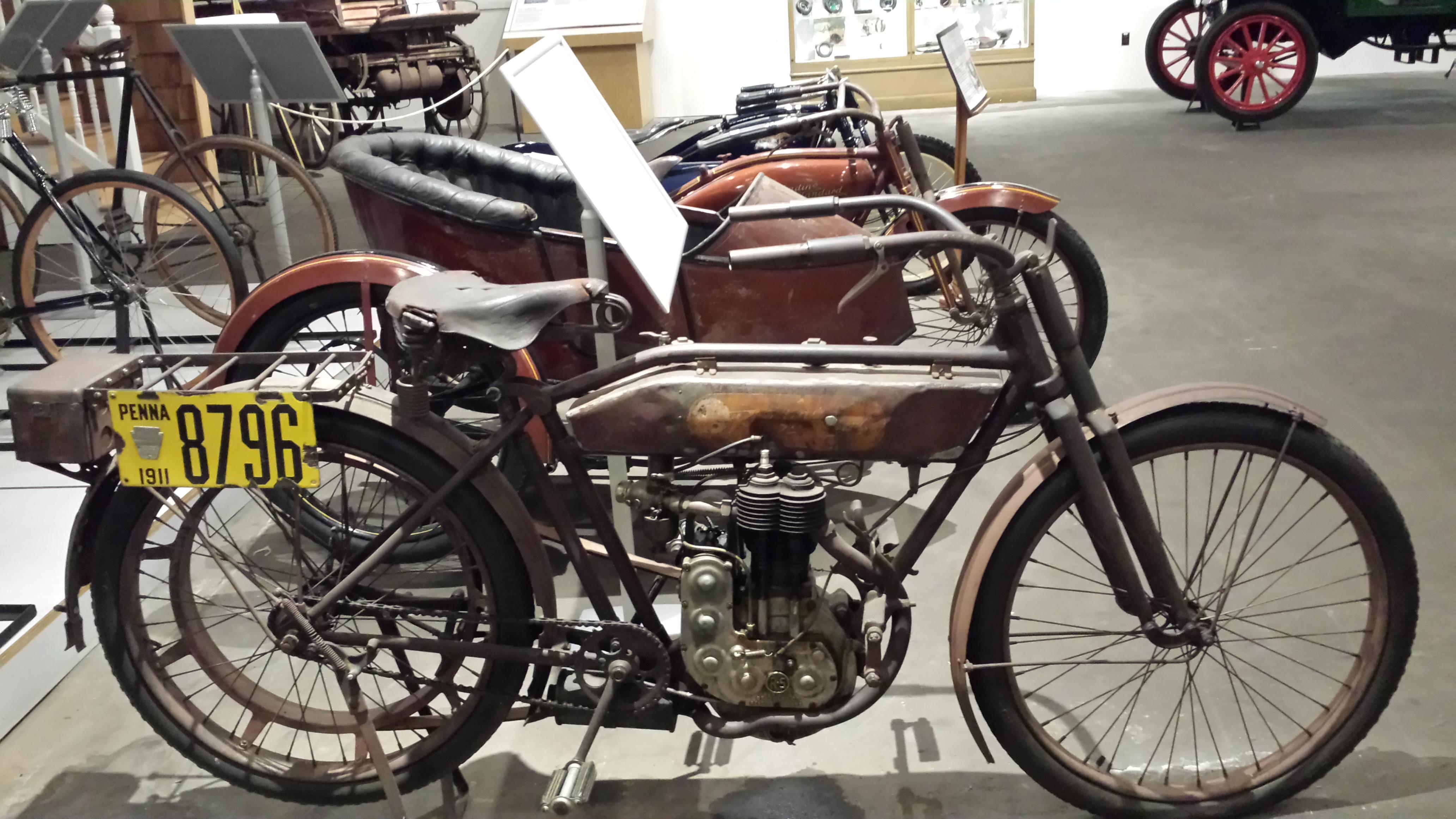 Boyertown Auto Museum | antique motorcycle |boyertown pa