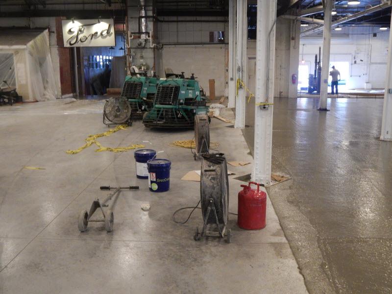 Boyertown Auto Museum New Floor