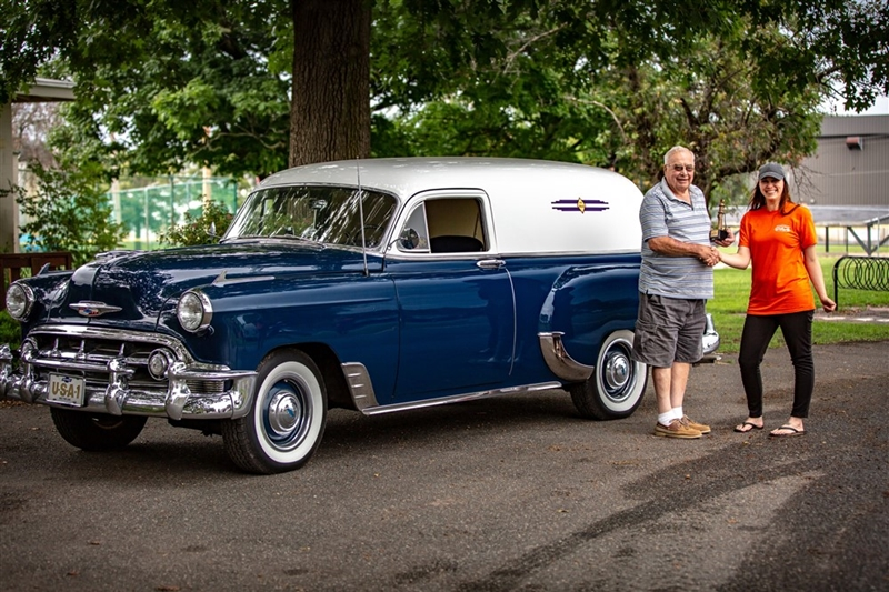 Maurice Ayers 1953 Chevy Sedan Delivery