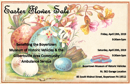boyertown easter flower sale